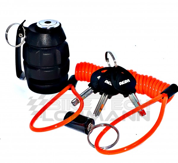 AGM Grenade Alarm - Bremsscheibenschloss