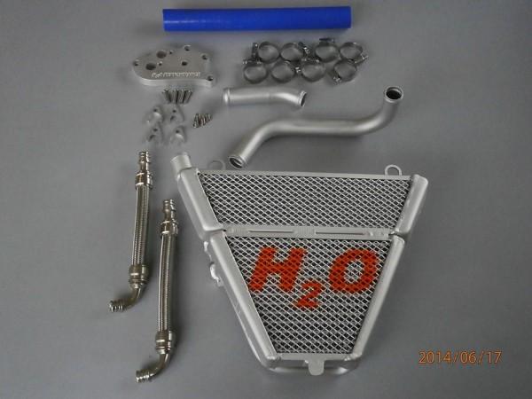 H2O performance Racing-Kit-Kühler für Ducati Panigale 899 / 1199