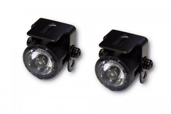 SHIN YO LED-Standlicht, rund, Durchmesser 24,7 mm, mit Universalhalter