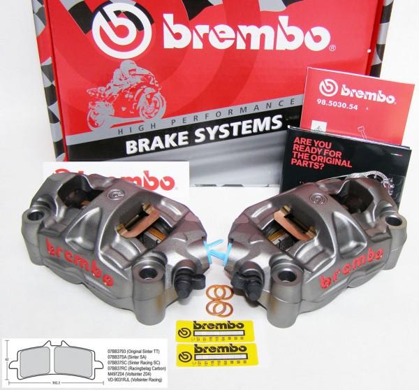 Brembo High Performance - Radial M50 Monoblock Bremszangen | 100 mm Kit