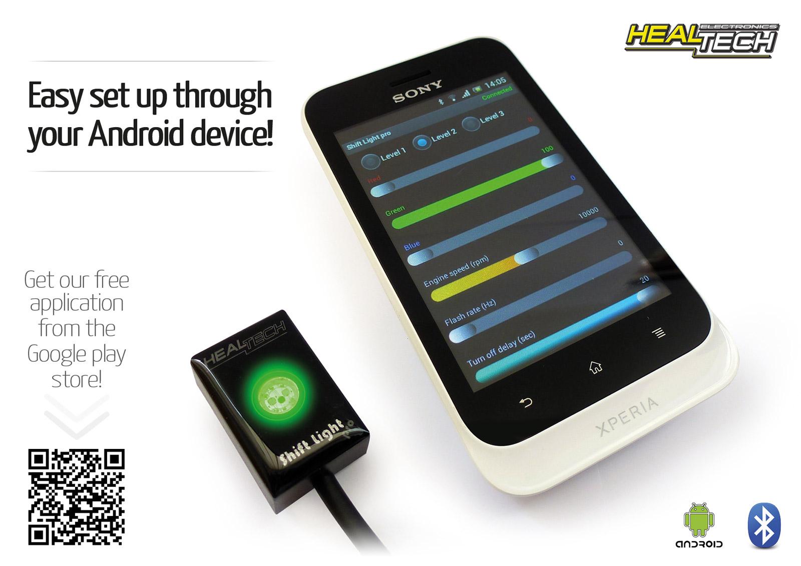 HealTech Schaltblitz Shiftlight pro universal