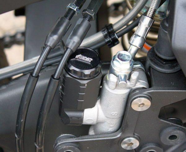 Bremsbehälter hinten Kawasaki Z750R ´11- mit ABE