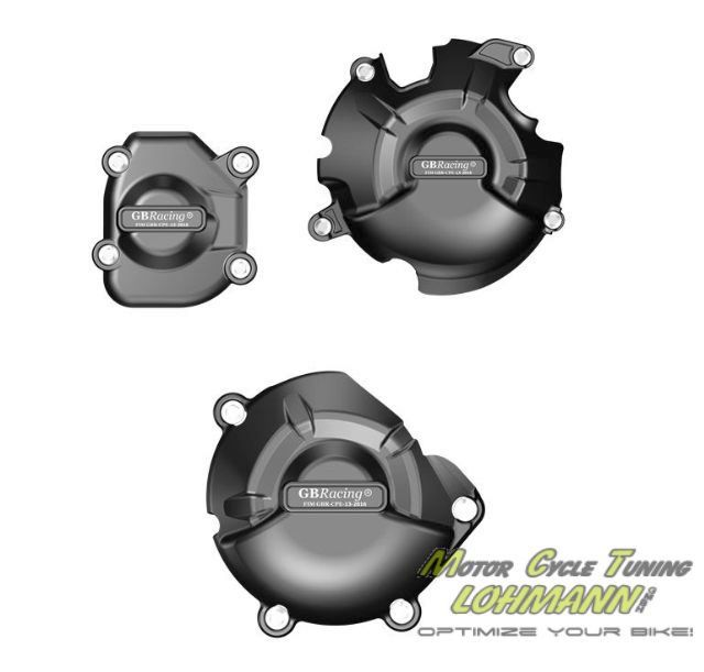 GB Racing Motordeckelschoner Set Kawasaki Z800/e